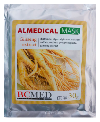 *Альгинатная маска (BCMED/Женьшень/30гр)