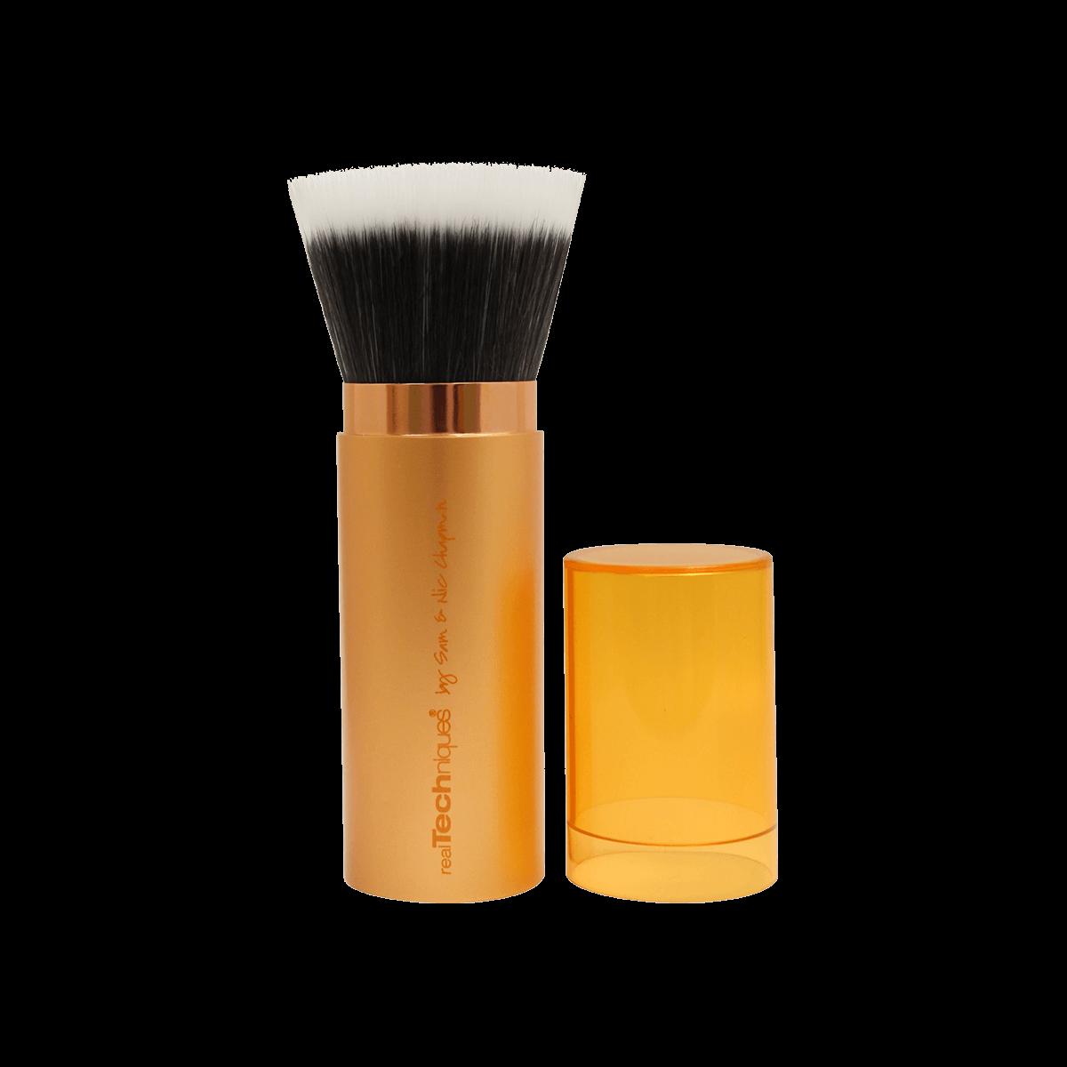 Купить со скидкой Кисти для макияжа: Кисть для бронзера выдвижная Real Techniques Retractable Bronzer Brush