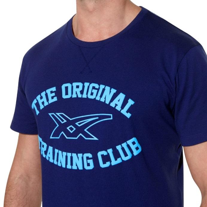 Мужская футболка асикс Graphic SS Top (125074 8052) синяя
