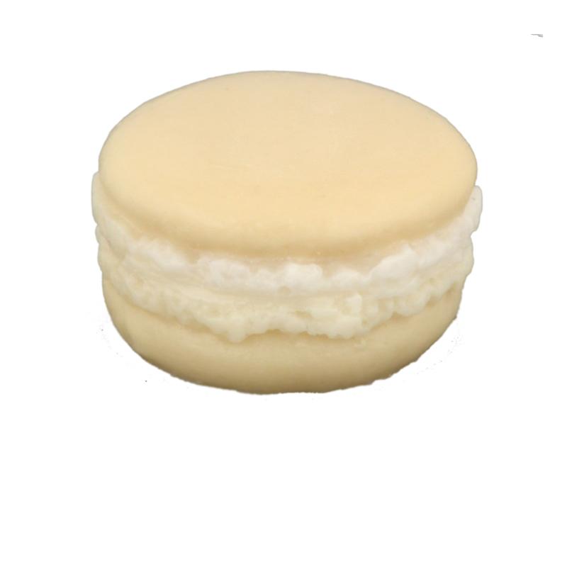 Autour Du Bain Мыло Макарон «Глазированная груша» (Мыло в форме кексов и сладостей)