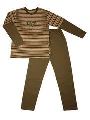 Пижама коричневого цвета марки Taro