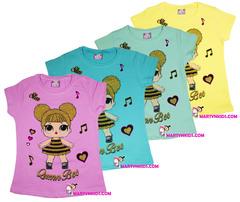 1214 футболка королева пчелка