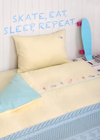 Детское постельное белье в кроватку Luxberry Skate Girl