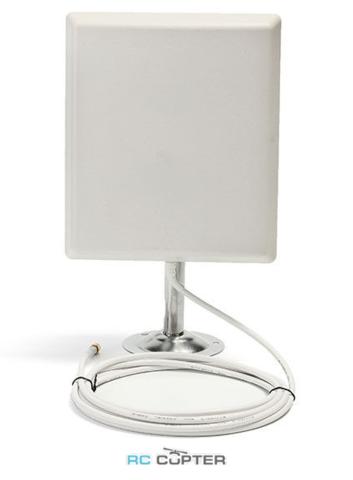 Антенна панельная (патч/patch/plate) 1.2 ГГц с усилением 14 Дб