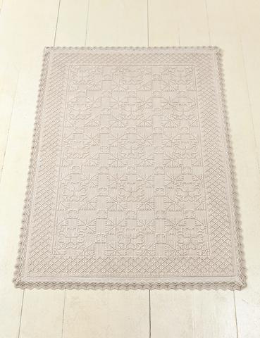 Элитный коврик Vintage 2 бежевый от Luxberry