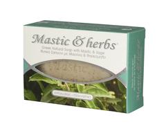 Натуральное мыло с мастикой и шалфеем MASTIC & HERBS 125 гр.