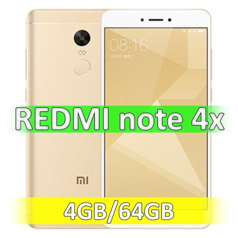 Xiaomi Redmi Note 4X (4-64Gb) Gold