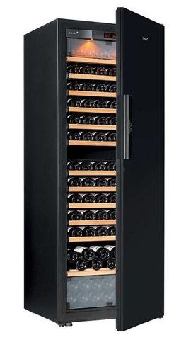 Винный шкаф EuroCave E-Pure-L сплошная дверь Black Piano, цвет чёрный, максимальная комплектация