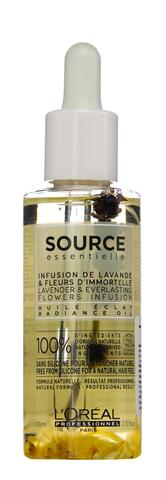 Масло для сияния окрашенных волос,Loreal Source Essentielle,70 мл.