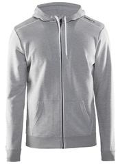 Мужская куртка с капюшоном Craft In the Zone 1904156-2950 серая