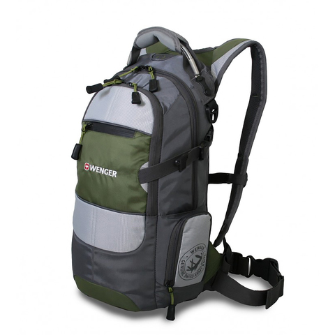 Рюкзак Wenger Narrow Hiking Pack серый,  22 л