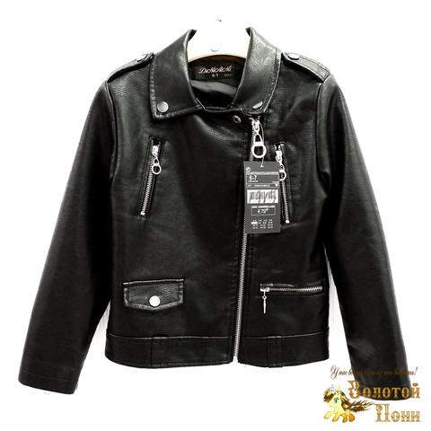 Куртка экокожа девочке (3-11) 200318-W1915.3