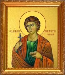 Панкратий Римский, мученик. Икона на холсте.