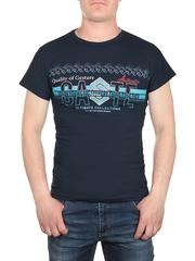 17625-5 футболка мужская, темно-синяя