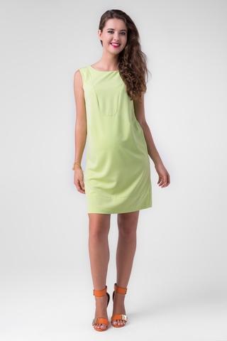 Платье 06168 салатовый