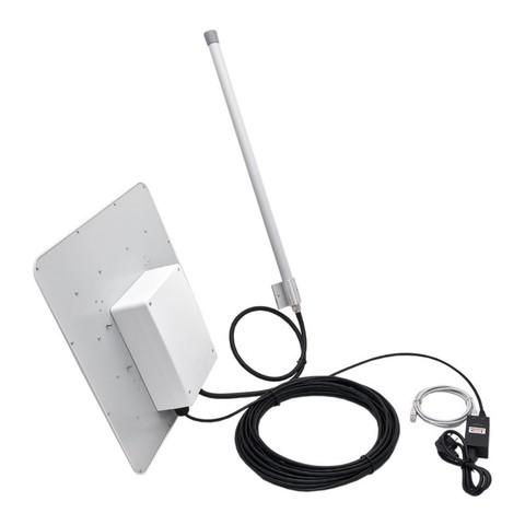 Уличная 3G/4G-интернет станция OMEGA MIMO POE BOX с раздачей WiFi до 1 га