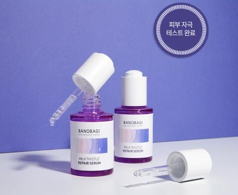Восстанавливающая сыворотка для суперчувствительной кожи, 30 мл / Banobagi Milk Thistle Repair Serum