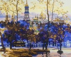 Русский пейзаж - алмазная картина, KUK004