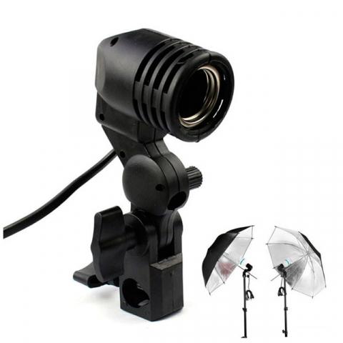 Патрон для лампы с креплением для зонта Fotokvant RLH-01