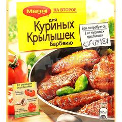 MAGGI на второе для сочных Куринных крылышек барбекю 24г
