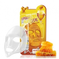 Тканевая маска для лица с Витаминным комплексом, ELIZAVECCA,  Vita Deep Power Ringer Mask Pack, 23 мл