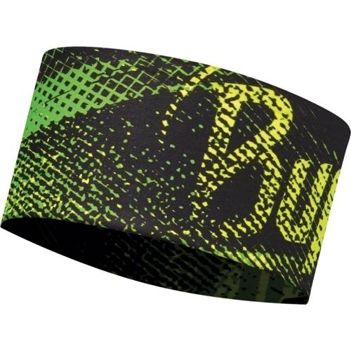 Летняя спортивная повязка Buff Flash Logo Yellow Fluor