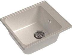 Мойка GranFest (ГранФест) 420 ЕСО-17 для кухни из искусственного камня, белый