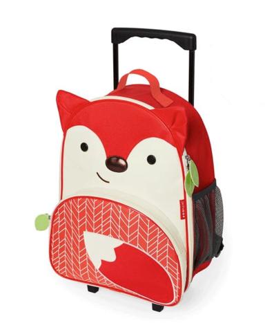 Детский чемодан на колесиках Лиса