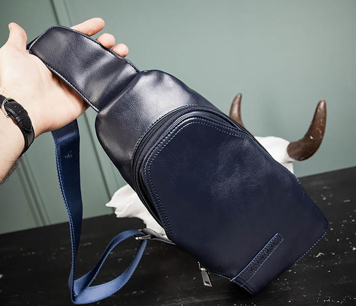 BAG484-3 Мужская сумка рюкзак с одной лямкой фото 05