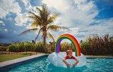 Круг надувной детский rainbow BigMouth BMLF-0014-EU | Купить в Москве, СПб и с доставкой по всей России | Интернет магазин www.Kitchen-Devices.ru