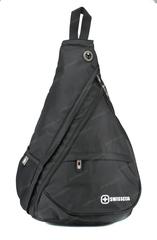 Однолямочный рюкзак SWISSWIN 1630-84 Black