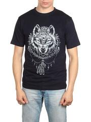 18715-2 футболка мужская, темно-синяя