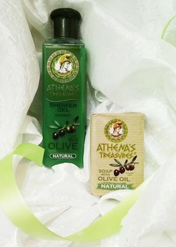 Подарочный набор оливковой косметики на каждый день