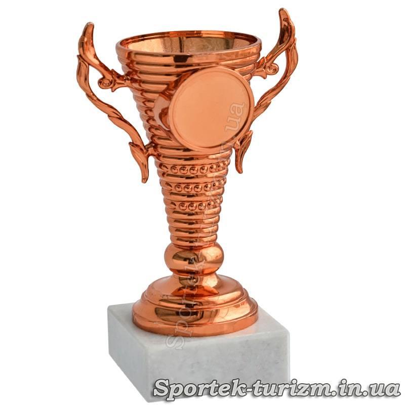 Кубок за 3 место (бронза) высотой 12 см