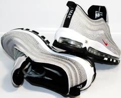Модные женские кроссовки nike air max 97 ultra 17.