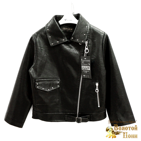 Куртка экокожа девочке (3-11) 200318-W2001.1