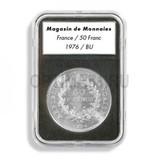 Прямоугольные капсулы EVERSLAB для монеты диаметром 17 mm