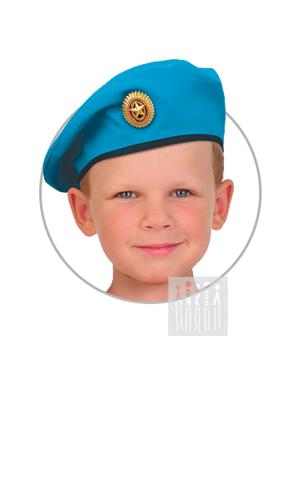 Фото Берет ВДВ рисунок Детские костюмы по профессиям для детского сада помогут примерить роль полицейского, повара, врача, парикмахера и др. проще и веселее!