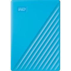 Жесткий диск внешний Western Digital 4TB My Passport (Голубой) 2019 WD