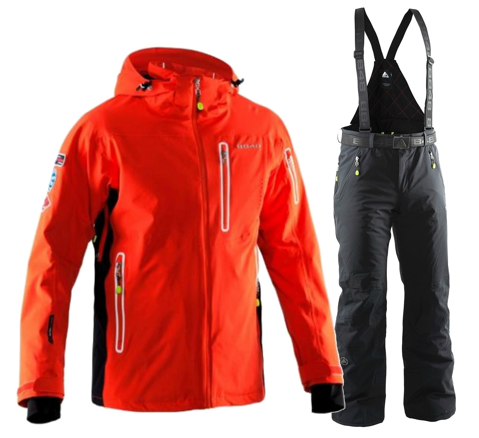 Мужской горнолыжный костюм 8848 Altitude Hinault/Venture (7017G1-702808)