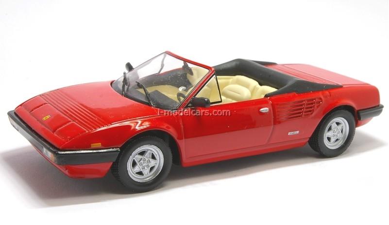 Ferrari Mondial Cabriolet red 1:43 Eaglemoss Ferrari Collection #38