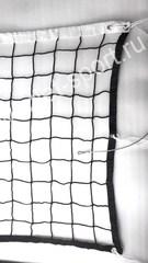 Сетка волейбольная ПРОФ d=4.0мм с тросом