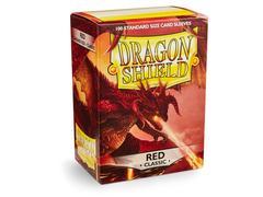 Dragon Shield - Красные протекторы 100 штук