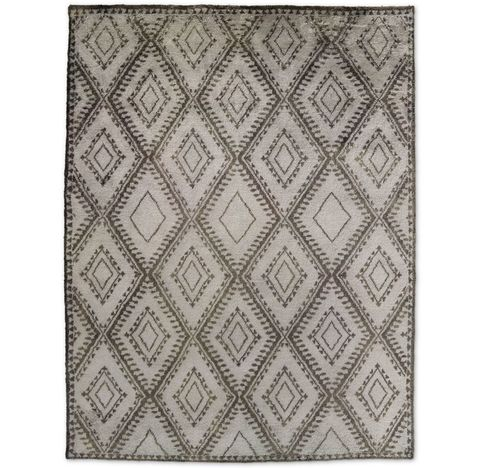 Mohair Antico Rug - Grey/Charcoal
