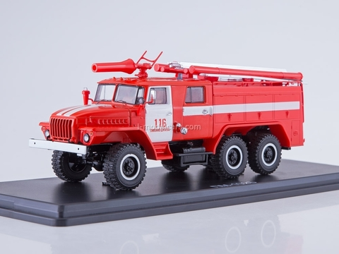 Ural-43202 AC-40 PM-102B Likino-Duluevo fire 1:43 Start Scale Models (SSM)