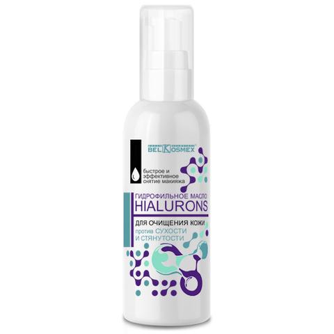 BelKosmex HIALURONS Гидрофильное масло для очищения кожи против сухости и стянутости 100мл