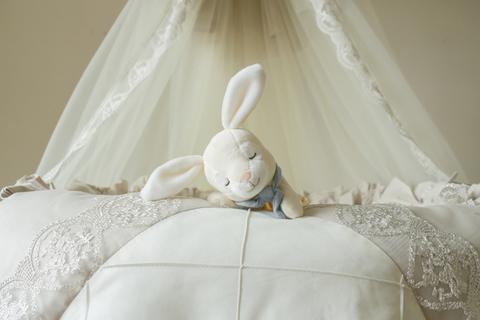 Комплект в круглую/овальную кроватки Vintage