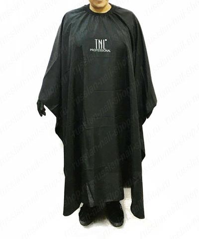 Пеньюар парикмахера TNL черный (110 см.) 381266