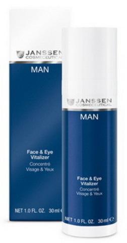 Ревитализирующая сыворотка для лица и зоны вокруг Janssen Face & Eye Vitalizer,30 мл.
