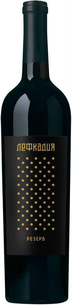 Вино Лефкадия резерв геог. наим. красное сухое 0,75л 14%